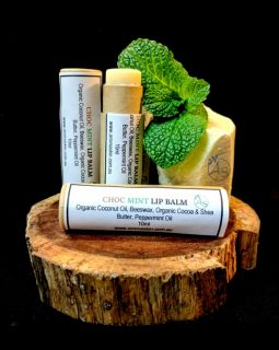 choc mint lip balm